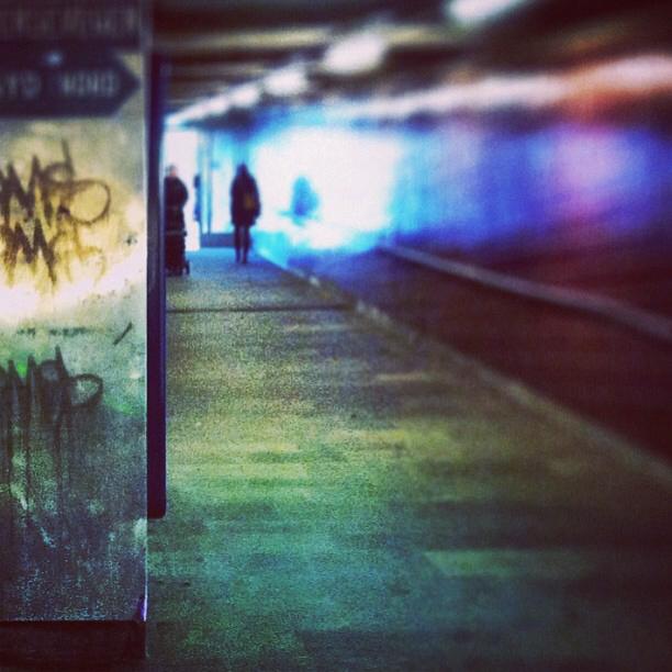 walking towards the light Image
